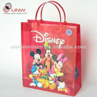 designer shopping plastic bags with custom printings