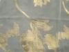 Silk metallic jacquard chiffon plain dyed fabric