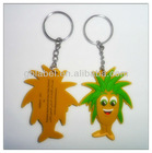 cartoon rubber keyring