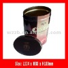 oval tin box for Chocolate, chocolate tin box packaging
