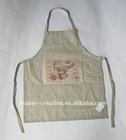 frabic christmas apron
