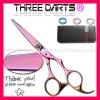 Attractive Purple Professional Barber Hair Scissors
