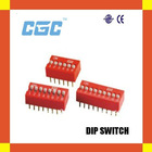 RED DIP SWITCH CGC DIP SWITCH micro dip switch