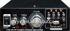 protable cheaper 2 channel 220V /12v car amplifier(BK-698D)