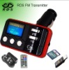 Car mp3 player with steering wheel remote and RDS