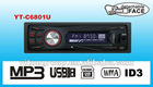 Detachable front panel car mp3 player YT-C6801U