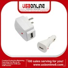 Premium Vehicle USB Car Charger Wall Travel AC Power Charger For Amazon Kindle