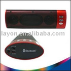 Portable Mini Speaker with Bluetooth Function-Red(BP071C)