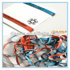 Logo rubber bands