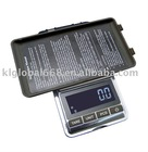 carat pocket scale with counting function
