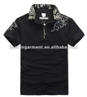 100% cotton embroidery T-shirt