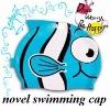 Animal-designed swimming cap