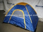 Two Person Camping Scout Blue/Gold Camp Site Dome Tent