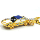 hot selling best cheap individual christmas promotion gift car shape unique crystal usb