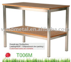 stainless steel table T006M
