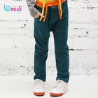 2012 In Stock Item Fashion Design Elastic Cord Long Track Pants For Children Boy