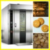 Professional stainless steel bakery gas deck oven