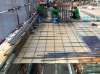 reusable new technology wpc building formwork board for pier