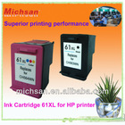 2012 hottest remanufactured ink cartridge 61XL replaces for HP