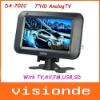 """Free Shipping DA-702C 7"""" inch High definition digital panel with 480*234 pixels TFT Television Dropshipping+Wholesale"""