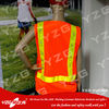 safety traffic clothing with led light and reflective tape EN471