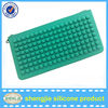 Square shape of silicone purse to girls