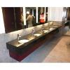 basalt black vanity top