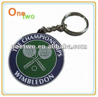 Promotional pvc soft rubber keychains