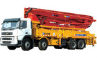 XCMG HB48-B-C-D medium size portable Concrete Pump