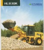 3ton Hyundai new wheel loader HL830K