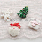 High quality fashion resin decorate clear christmas ornaments