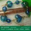 2012 New Design Handmade animal zodiac beads Murano Glass Bracelet