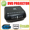 1080p MINI Outdoor Projector With DVD,RMVB(MP5),TV,GAME,USB,SD,MMC,AV IN&OUT