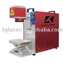Portable Fiber Laser Marker Machine/mark on metals