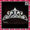 2011 new fashion wedding tiara with rhinestone,designer crystal wedding crown,hot selling hair accessory,latest wedding jewelry