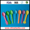 Disposable plastic yogurt spoon