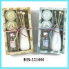 scented flower tealight with reed diffuser gift set