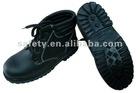 Feet protection Buffalo leather PU injection work shoes