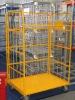 Folding storage trolley
