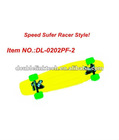 2012 new kid toy plastic skate boards ,colorfull skate board