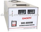 SVC-8000W Single Phase Voltage Stabilizer