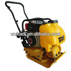 KDC80T 4HP/15KN Walk Behind Diesel Engine Steel Plate Compactor With Water Tank