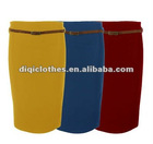 Ladies Bandage Pencil Belted Work Skirt ,long skirt