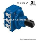 UL&ROHS dimmer potentiometer with rotary switch