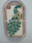 Peacock design for mobile case