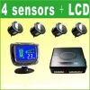 LED Buzzer Warning Parking sensor With2, 4,6,8 Sensors for all cars (LY-128-4