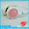 2012 super bass HI-FI stereo headphone with microphone&volume