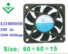 24V 6015 water cooling mist fan