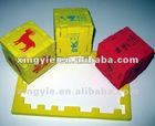 promotional EVA cube puzzle