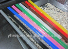 colorful silicon rubber wiper blade rubber refill